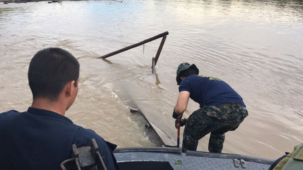 Nuevo golpe contra la minería ilegal en Iquitos