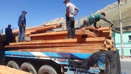 Serfor recuperó más de 70 mil pies tablares ilegales