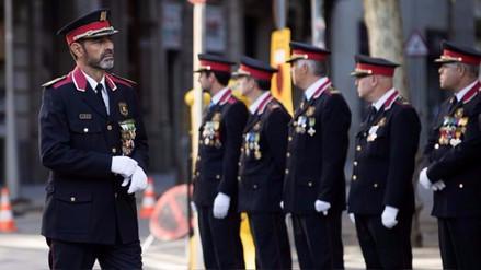 El gobierno español destituyó al jefe de la policía catalana