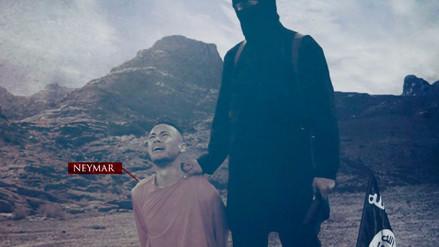 Nueva amenaza del Estado Islámico tiene como protagonistas a Neymar y Messi