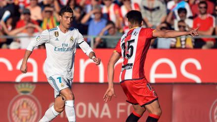 Real Madrid perdió por 2-1 contra el Girona y se aleja del líder Barcelona