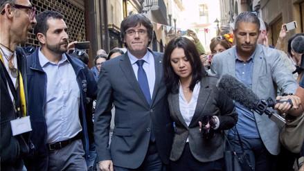 El presidente catalán