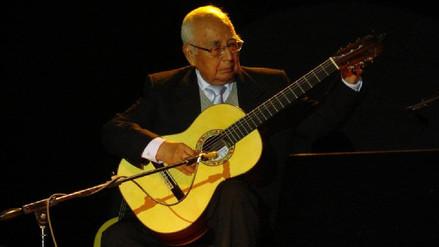 Raúl García Zárate, maestro de la guitarra ayacuchana, murió a los 85 años