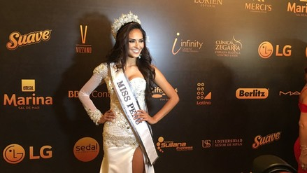 Romina Lozano es la nueva Miss Perú 2017