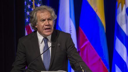 Almagro ve sin sentido que oposición venezolana vaya a elecciones municipales
