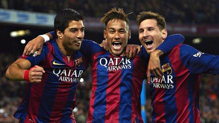 Neymar se reencontró con Messi y Suárez y bromeó: