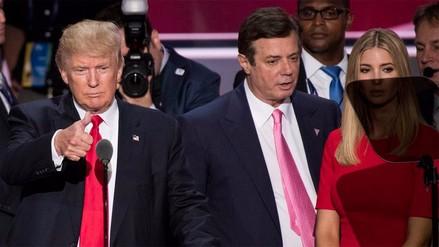 Ex jefe de campaña de Donald Trump deberá entregarse a la justicia