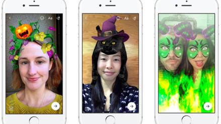 Usa los filtros y fondos que Facebook ha estrenado por Halloween