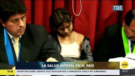 Solo 800 mil de 4 millones de peruanos con problemas mentales reciben tratamiento