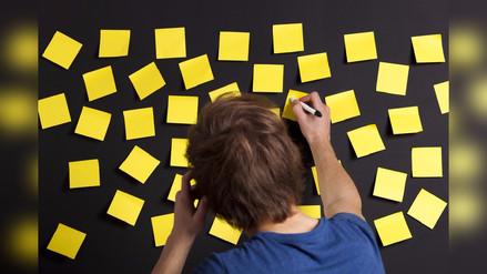 La técnica del 'post-it' para generar pensamientos positivos en los niños