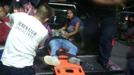 Madre e hijas heridas de gravedad tras choque de motos en Chulucanas