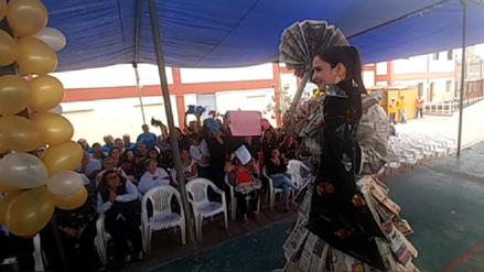 Internas de penal de Chiclayo celebran Día de la Canción Criolla