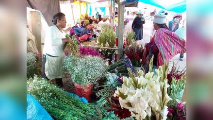 Tarma: precio de flores se incrementa por Día de Todos los Santos