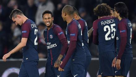 PSG humilló al Anderlecht y acumuló puntaje perfecto en Champions League