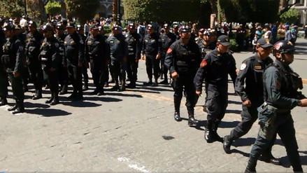 Policías ponen en marcha seguridad por Halloween y Día de la Canción Criolla