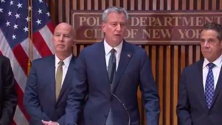 Alcalde de Nueva York: Atropello múltiple fue