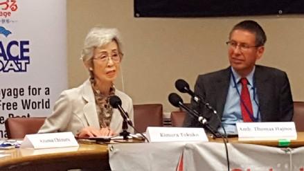 Una sobreviviente de Nagasaki: