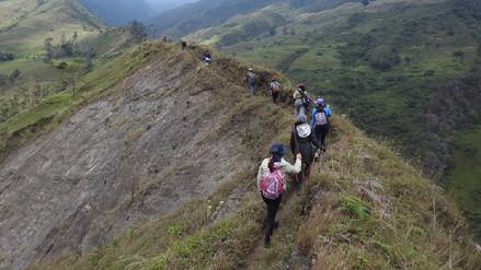 Caminantes recorrerán 72 kilómetros del Camino Inca en Cajamarca
