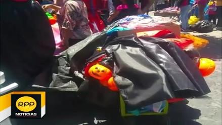 Comerciantes invadieron calles del Centro Histórico de Arequipa