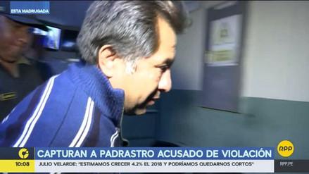 Capturan a un hombre acusado de violar a su hijastra en Carabayllo