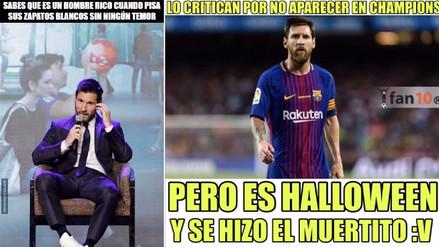 Barcelona es protagonista de memes tras empatar contra Olympiakos