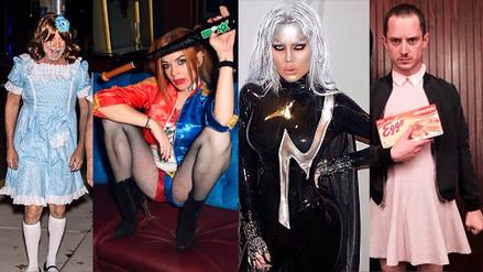 Halloween: Estos son los disfraces que usaron los famosos
