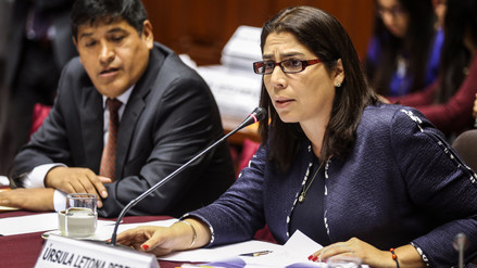 Úrsula Letona renunció a Comité Disciplinario del caso Kenji Fujimori