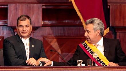 Destituyen a Lenín Moreno de la presidencia del partido de Rafael Correa