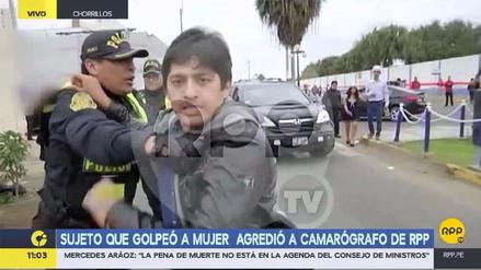 """Camarógrafo de RPP agredido en Chorrillos: """"En vez de detener al sujeto, detuvieron a los testigos"""