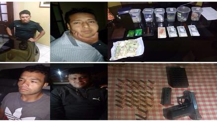 Chiclayo: capturan a presuntos miembros de ´Los Sicarios de La Victoria´