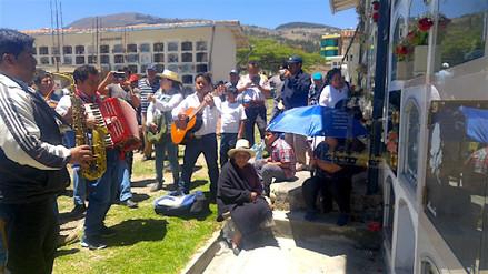 Al ritmo de carnavales los cajamarquinos velaron a sus difuntos