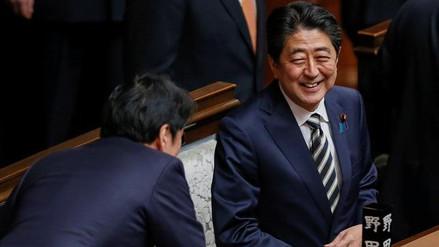 El Parlamento japonés reeligió a Shinzo Abe como primer ministro