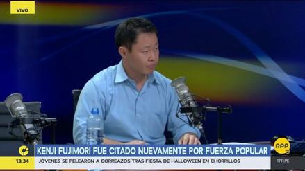 El Comité Disciplinario de Fuerza Popular citó nuevamente a Kenji Fujimori