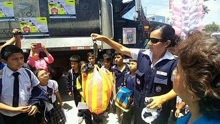 Brigada de Salud inició campaña contra el dengue en colegios de Chiclayo