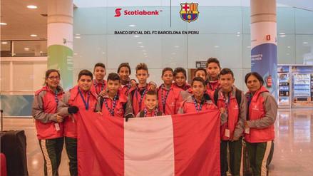 Llegó la gran final del Campeonato Nacional de Fútbol Infantil