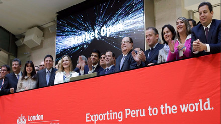 inPerú Europa 2017: Perú dio tradicional campanazo en la bolsa de Londres