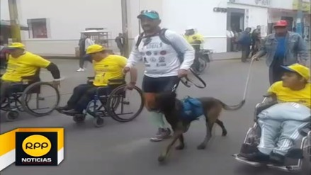 Deportista discapacitado de Colombia llegó a Huaral para batir récord