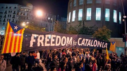 Miles de personas piden en Cataluña la liberación de los