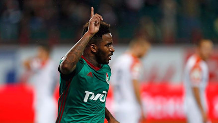 Jefferson Farfán anotó un golazo para el Lokomotiv en la Europa League