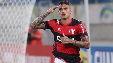 Flamengo se pronunció por la suspensión provisional de Paolo Guerrero