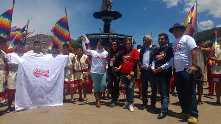 """Cusco celebró a lo grande el día de los """"Peruanos Camiseta"""""""