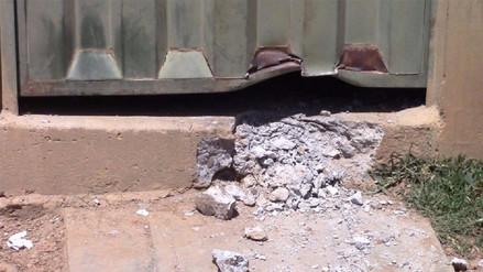 Huamachuco: extorsionadores detonan explosivo en vivienda de minero