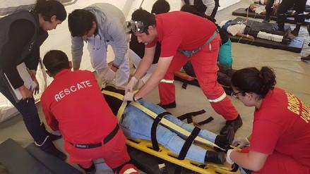 Simulacro de sismo y tsunami en Huanchaco tuvo poca participación