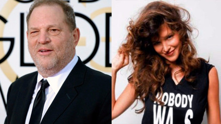 Harvey Weinstein: Paz de la Huerta acusó al productor por abuso sexual