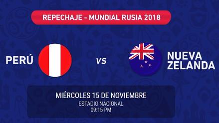 Comenzó inscripción de las entradas para el Perú vs. Nueva Zelanda