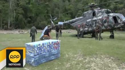 Entregan ayuda humanitaria a familias afectadas por desbordes en Picota