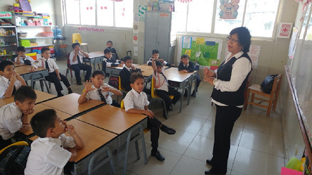Ugel supervisa recuperación de clases en colegios rurales de Lambayeque