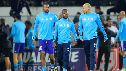 Patrice Evra, separado del Olympique de Marsella por agredir a un hincha