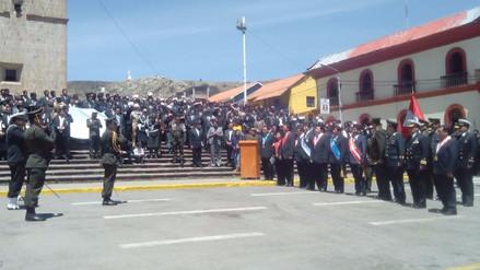 La ciudad de Puno festeja sus 349 aniversario de creación