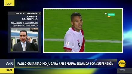 La sanción a Paolo Guerrero depende del resultado de la muestra B del antidoping